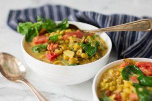Mung Bean Curry with Veggies – Ayurvedic Recipes